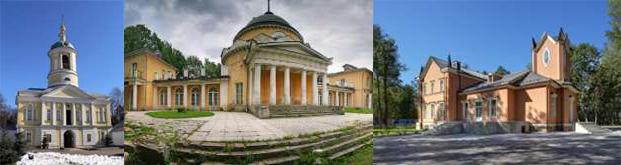 Екатерининский мужской монастырь, Усадьба Суханово, Усадьба Тимохово-Салазкино